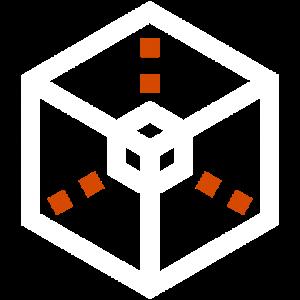 KUHN ENGINEERING - Logo ohne Schriftzug, Dateityp: PNG, Abmessungen: 512 × 512, Dateigröße: 23 KB, Hintergrund: transparent, Farbe: weiß