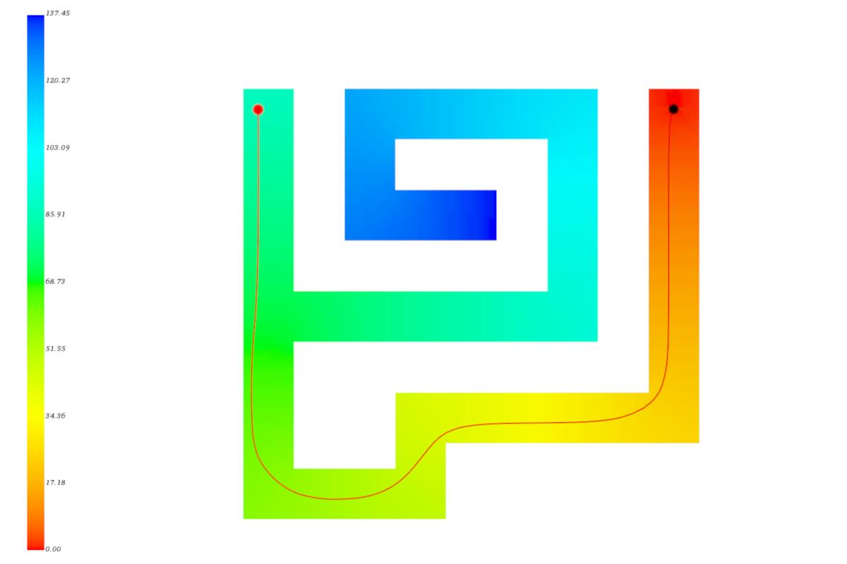 Geodesic distanz – labyrinth