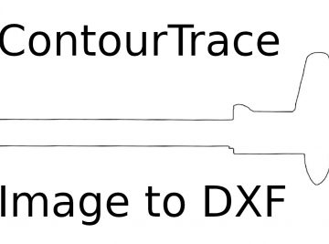 ContourTrace 2019 - Convert Image to DXF