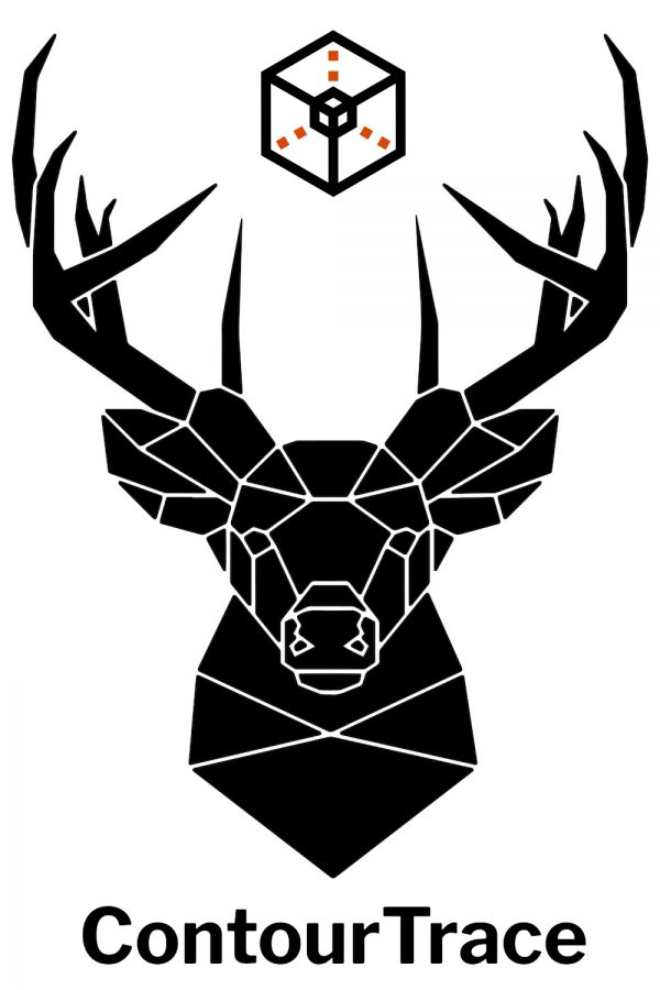 ContourTrace with deer head and Logo