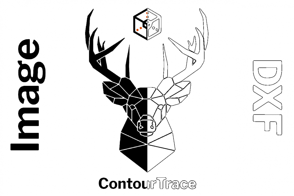 ContourTrace - Image to DXF Converter